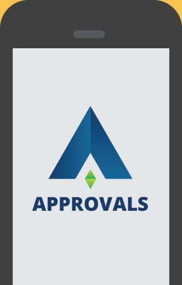 Approvals app screenshot