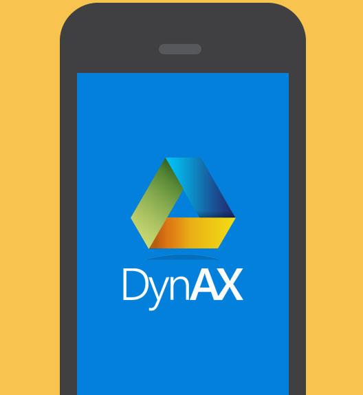 Dyn AX Mobile App screenshot